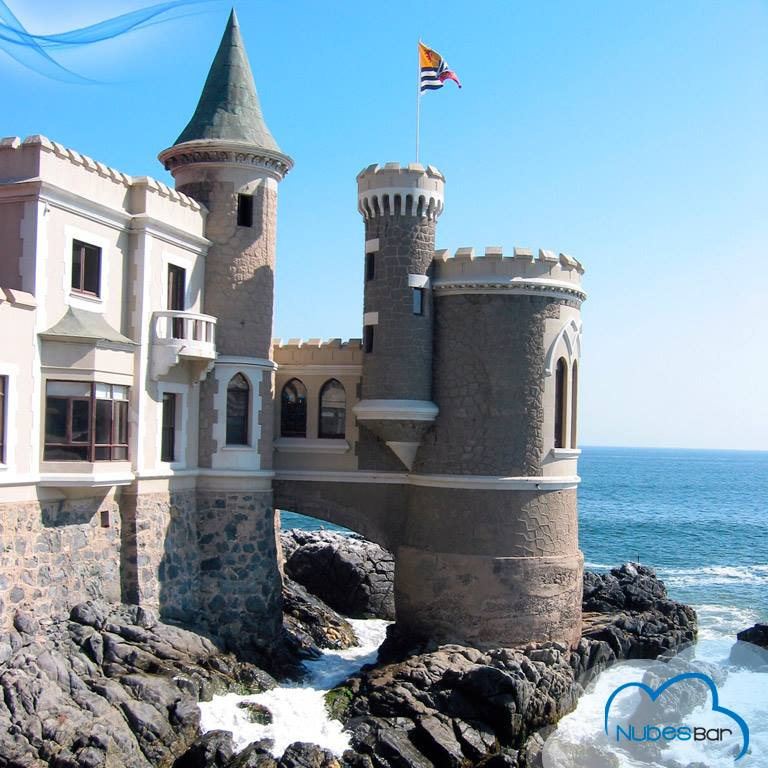 Castillo Woolf en viña del mar